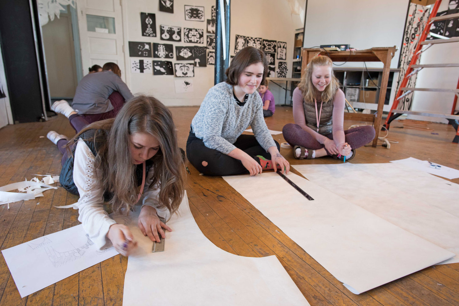 Explorations is one of Centrum's youth programs. Martha Worthley, the program's manager, is to talk about the impacts of art on youth at the AAUW (American Association of University Women) Port Townsend meeting on March 17. She is joined by Linda York and Kristin Smith. All are welcome to attend. Centrum photo courtesy David Conklin