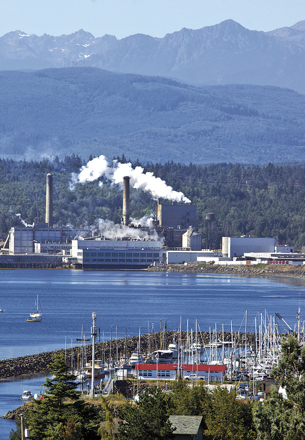 "Crown Packaging Group, which owns the Port Townsend Paper Corp., has invested $90 million in improvements since buying the mill in 2015, and because of that, ""the business would be of interest to multiple parties,"" said Crown CEO Steve Klinger. Leader file photo"