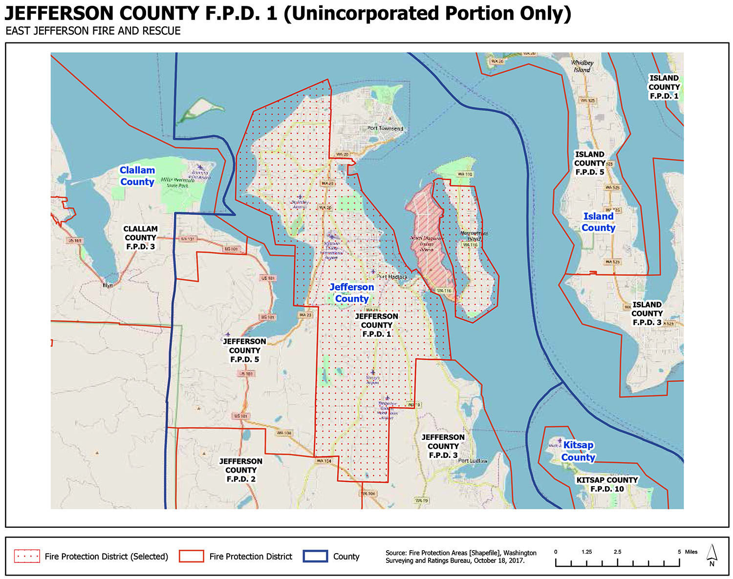 County Line 2 Fire Map.Fire District 1 Map Port Townsend Leader