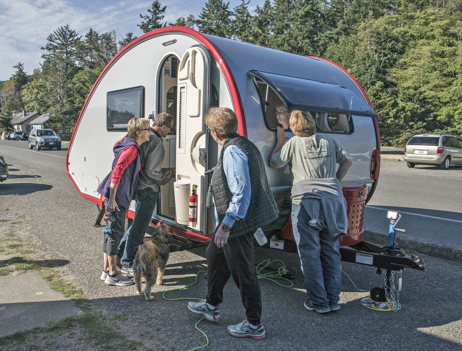 Teardrop campers: The comforts of home, on wheels | Port Townsend Leader