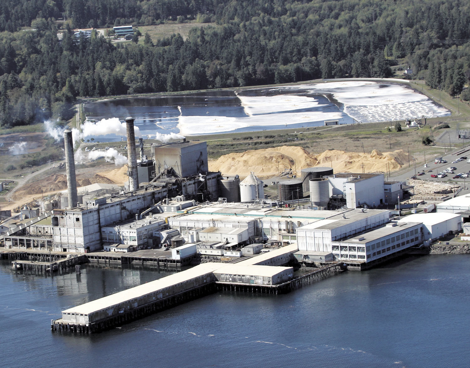 Crown Paper Group has invested more than $40 million since buying the Port Townsend Paper Corp. in 2015. The mill was fined $30,000 by the state Department of Ecology for two emission releases that occurred in 2016. Mill officials have 30 days from April 18 to appeal that decision. Leader file photo