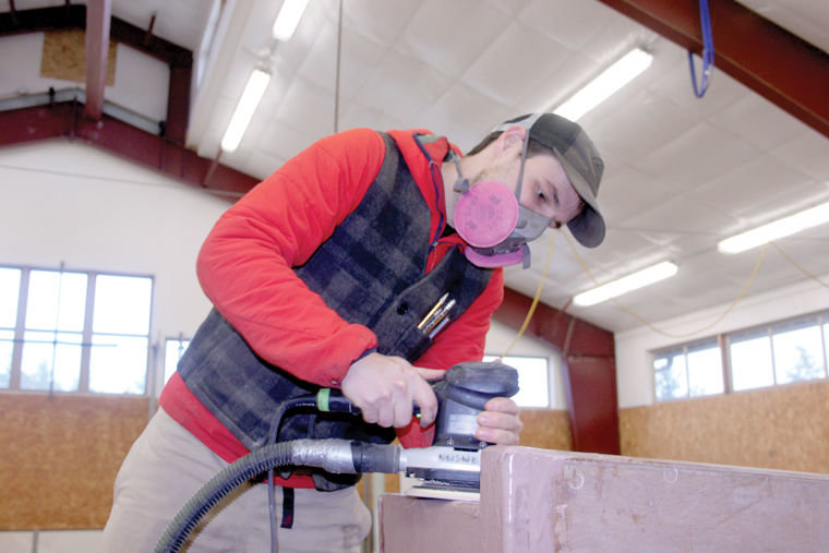 Boatbuilding school launches new course with $100K grant