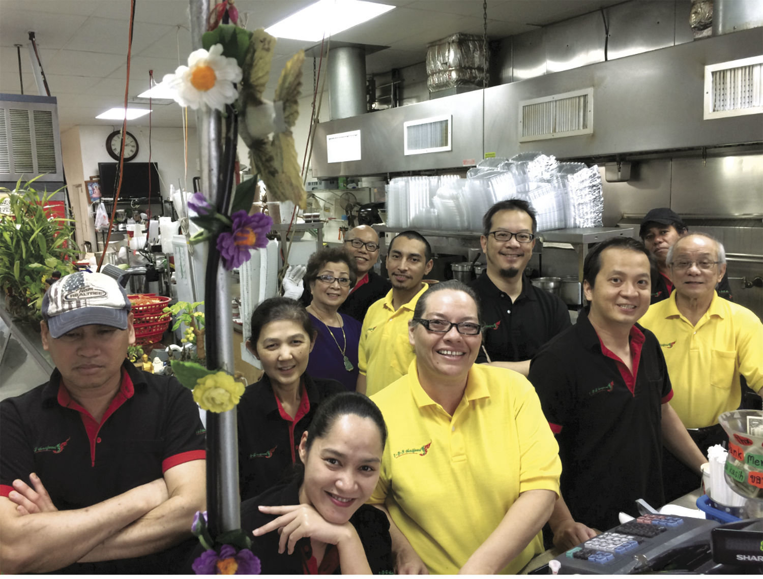 The team at 123 Thai in Port Townsend appreciate people who rated the Port Townsend business as the city's best Asian restaurant. The crew includes Eddie and Jenny Chenruk, Charlie, Chuck, Christa, Sawat, Amonphong, Poo, Christian, Jose and Boon.