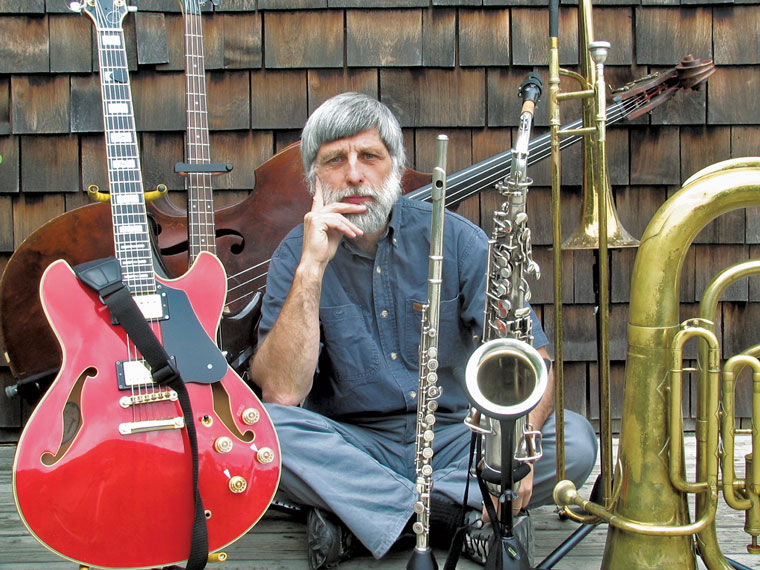 Chuck Easton has been a musician for 45 years. He's lived, and played, on the Olympic Peninsula since 1980. Courtesy photo