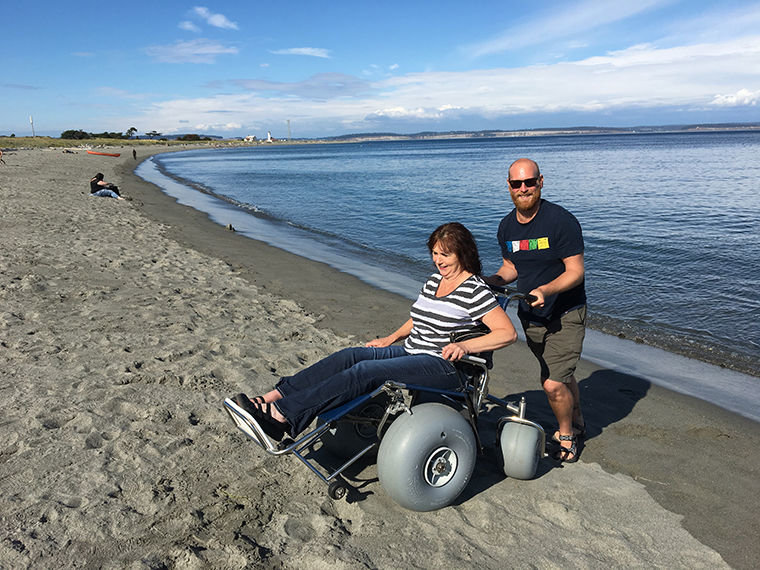 Beach Wheelchair Is Latest Gain In Accessibility Port