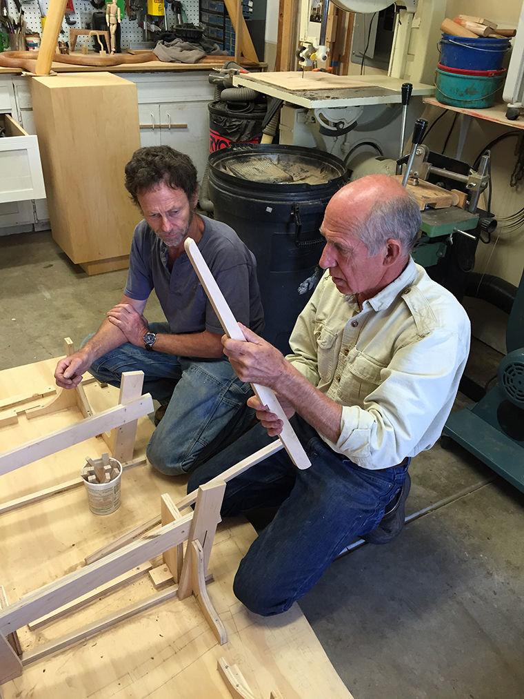Romijn Is School Of Woodworking Founders Award Recipient