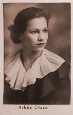 Port Townsend resident Barbara Clayton was known as Bobbe Chase during her senior year, 1934-35, at Saint Mary's Academy in Leavenworth, Kansas. Submitted photo