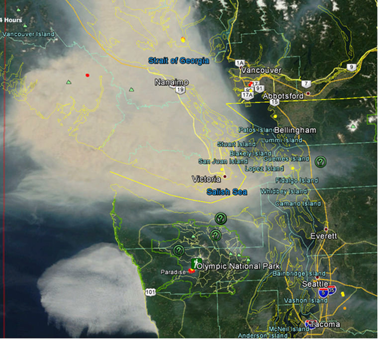 Hazy Skies Here Thanks To Canadian Wildfire Smoke Port Townsend Leader