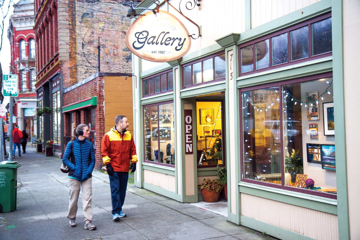 After ringing in the New Year, head to downtown Port Townsend to participate in Gallery Walk, which will take place Jan. 5 with several participants, including Port Townsend Gallery, 715 Water St.