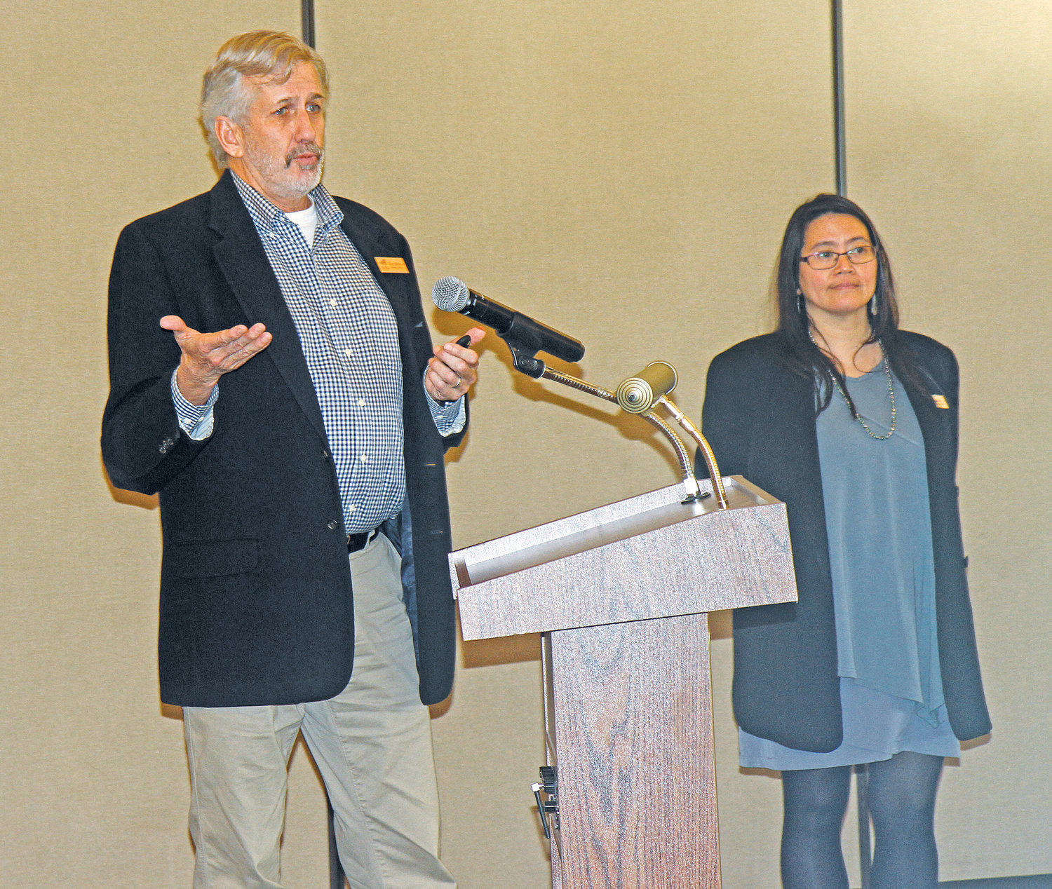 Dave Robison, PDA executive director, and Rufina C. Garay, Fort Worden chief strategy officer, have outlined several ways to attract more year round visitors to the historic campus.