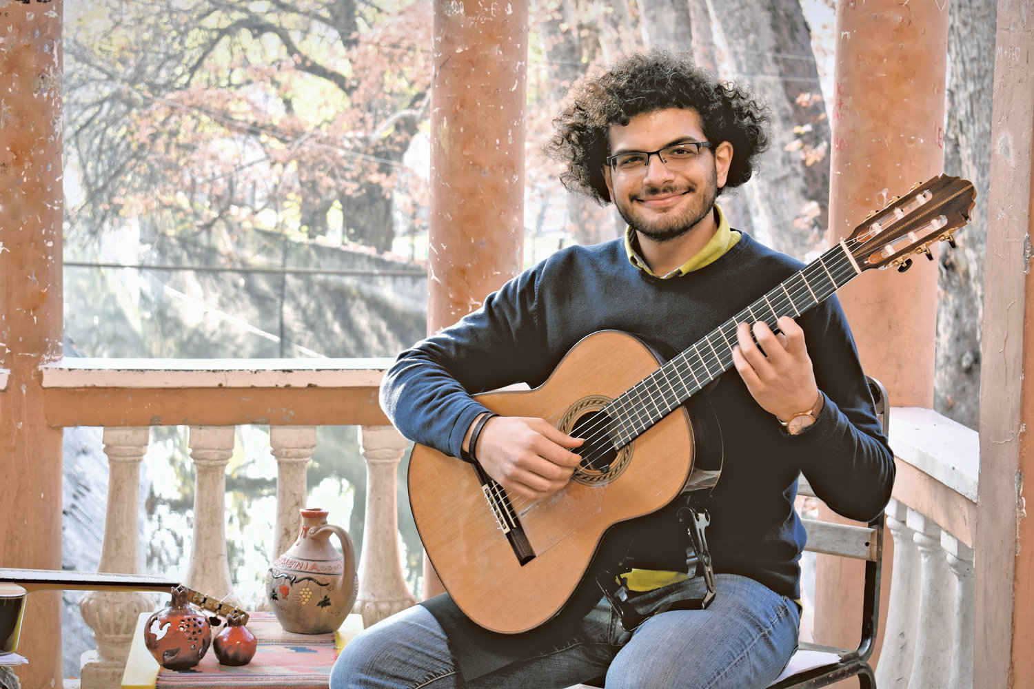 Saro Babikian began his musical career in Damascus, but he emigrated to California at the onset of the Syrian civil war in 2012.