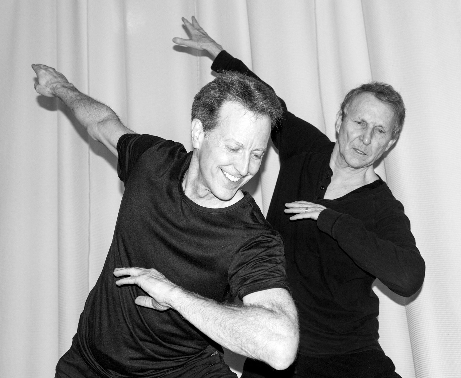 Don Halquist, left, has been dancing with, and learning from, Bill Evans for the past 33 years. During that time, the two have developed an undeniable chemistry on stage together.