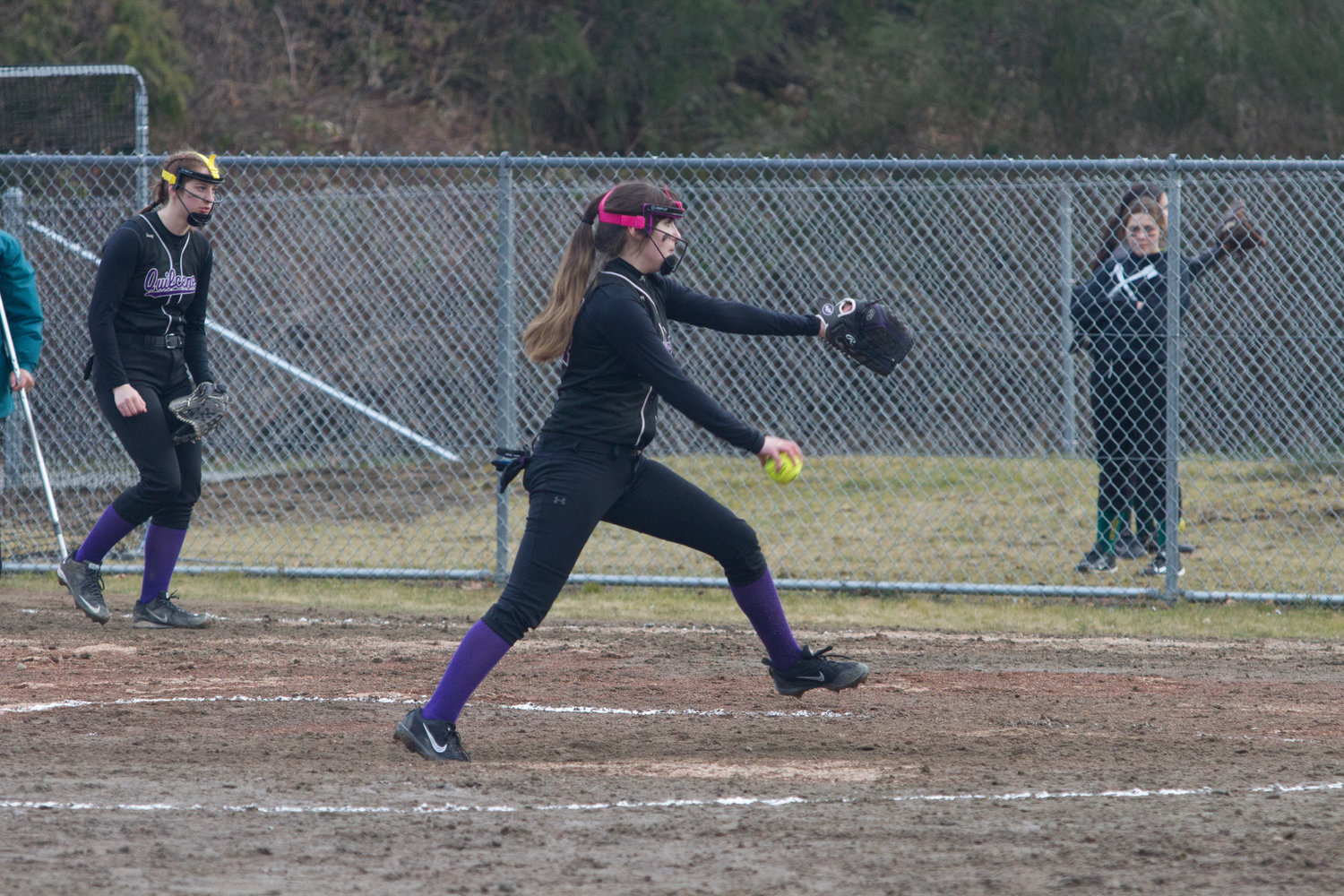 Quilcene fastpitch-softball won its doubleheader March 22 in North Kitsap.