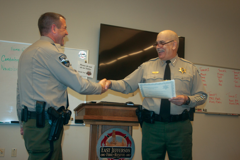 County sheriff swears in new undersheriff, deputy | Port