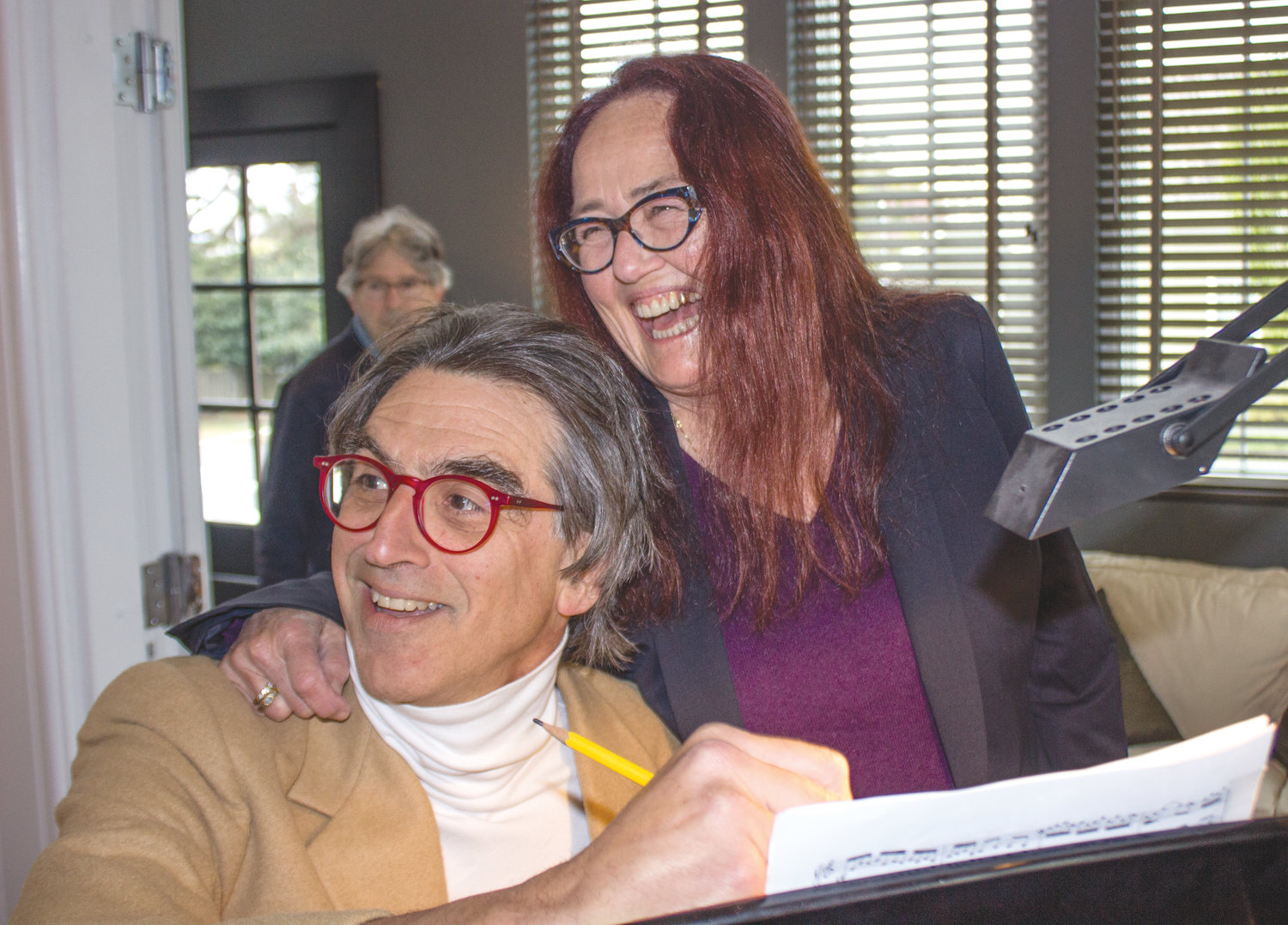 Emmy award winners Catherine Ryan and Gary Weimberg are spending a five week residency in Port Townsend to create a musical in collaboration with local talent.