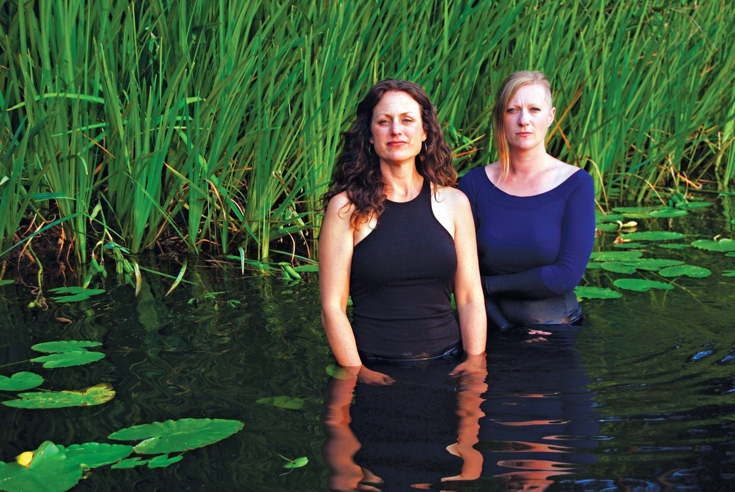 Ara Lee and Beth Wood will perform as Stand and Sway April 26 at Northwind Arts Center.