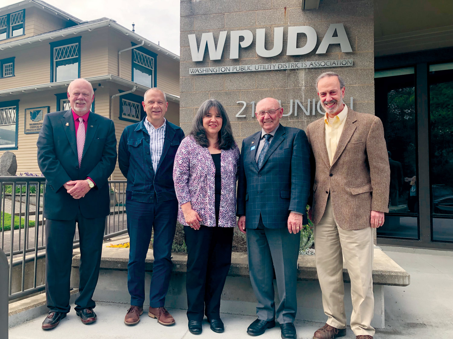Jefferson County PUD Commissioner Ken Collins was elected Secretary of the Washington Public Utility Districts Association. Other new officers include Chelan County PUD Commissioner Randy Smith, from Cashmere, President; Skamania County PUD Commissioner Liz Green, Vice-President and Lewis County PUD Commissioner Ben Kostick.