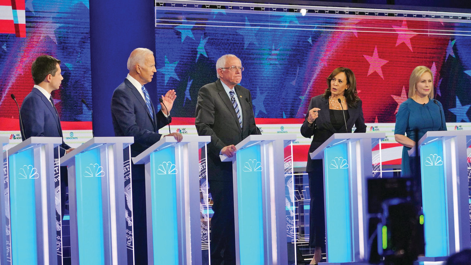 Democratic presidential primary candidates debate on June 27, 2019.