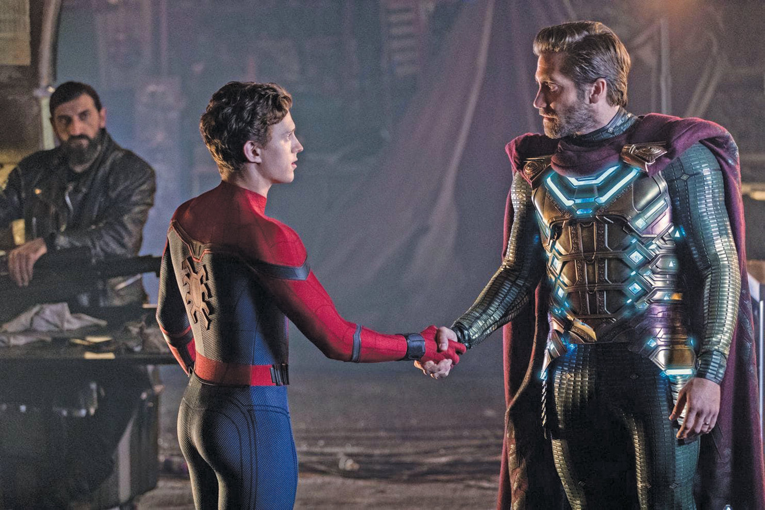 Tom Holland as Spider-Man  is the first actor to capture both sides of the character, and he's surrounded by a top-flight supporting cast.