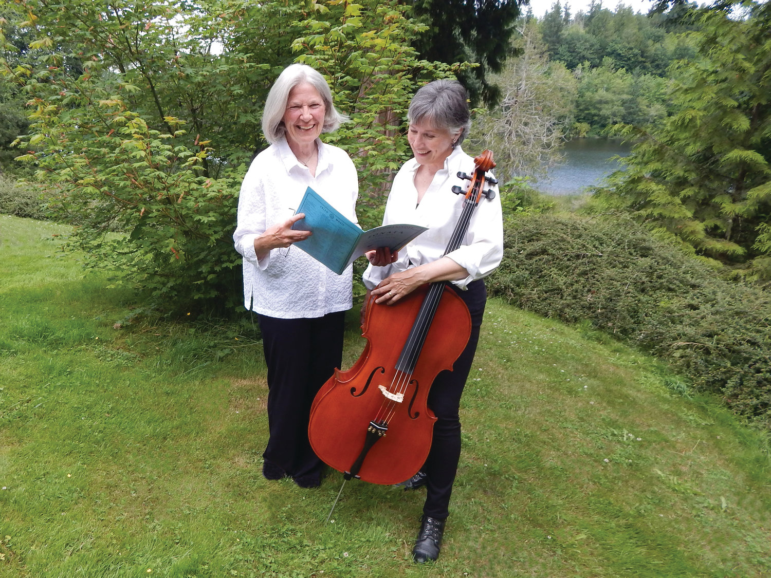 Cellist Pamela Roberts and pianist Sheila Harwood are ready to make their debut as Fauna Vivace.