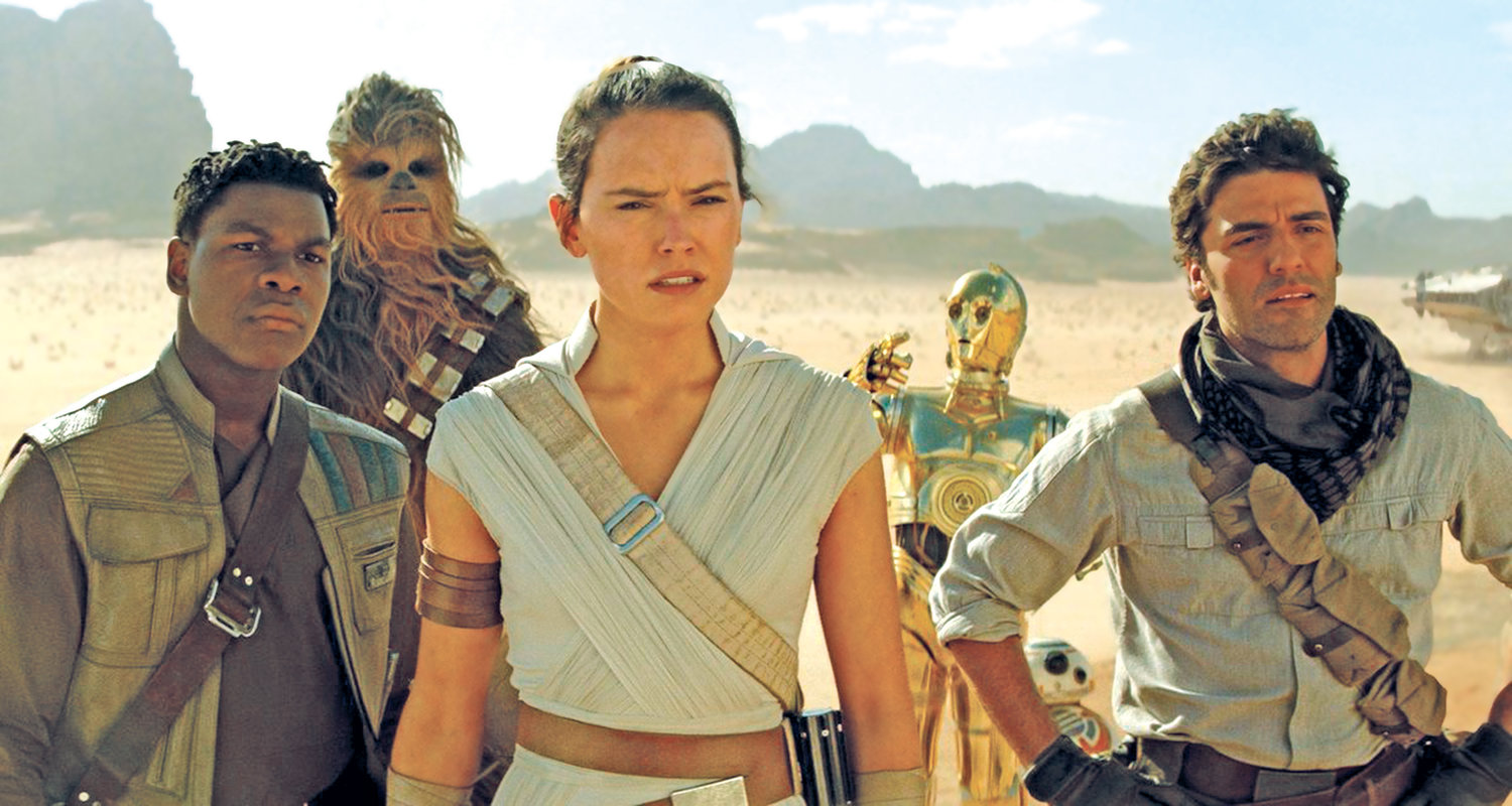 "The next generation heroic trilogy of Finn (John Boyega), Rey (Daisy Ridley) and Poe Dameron (Oscar Isaac) finally come into their own in ""Star Wars: The Rise of Skywalker."""
