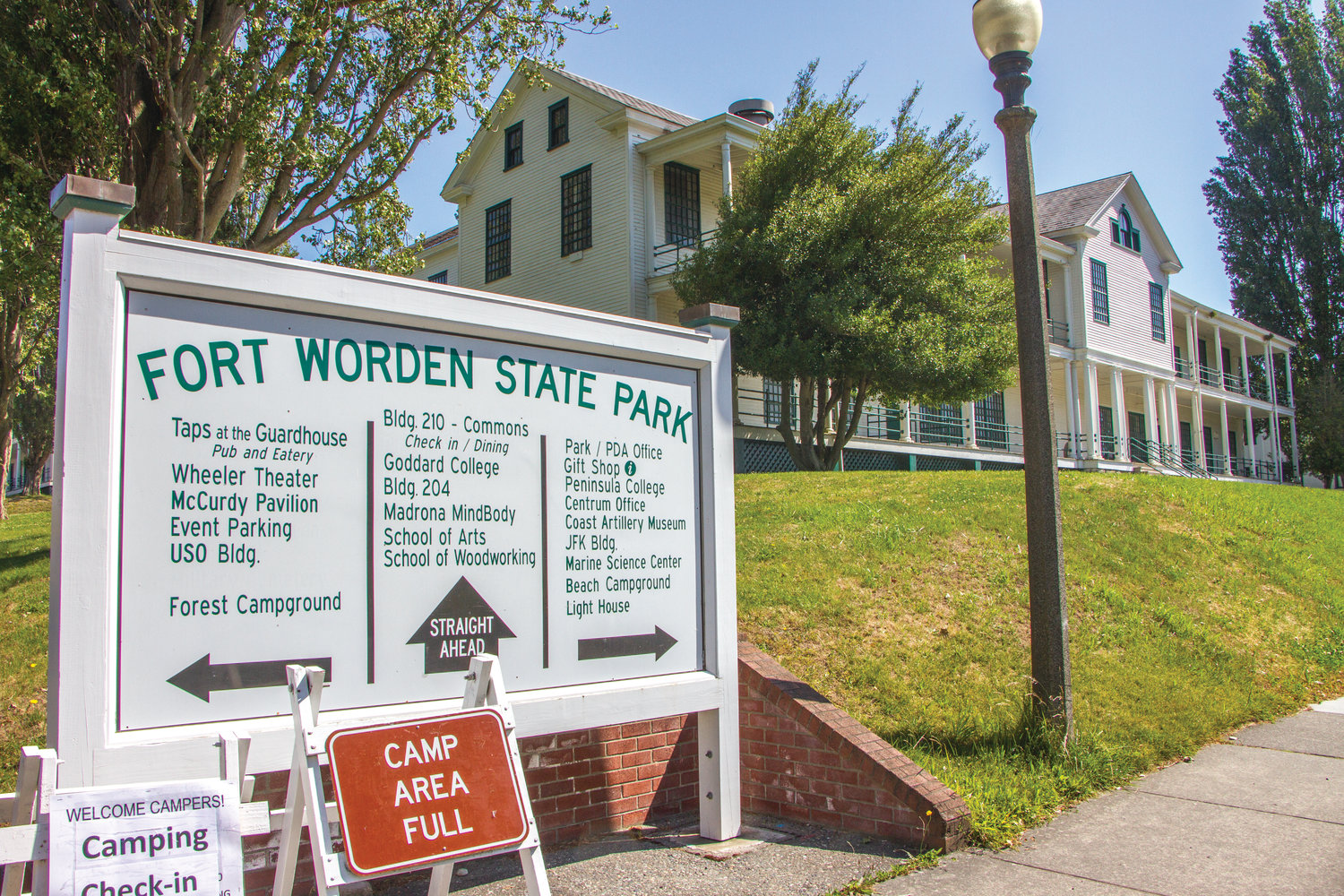 The Fort Worden Public Development Authority voted last week to begin reopening the overnight accommodations and restaurants to the public.