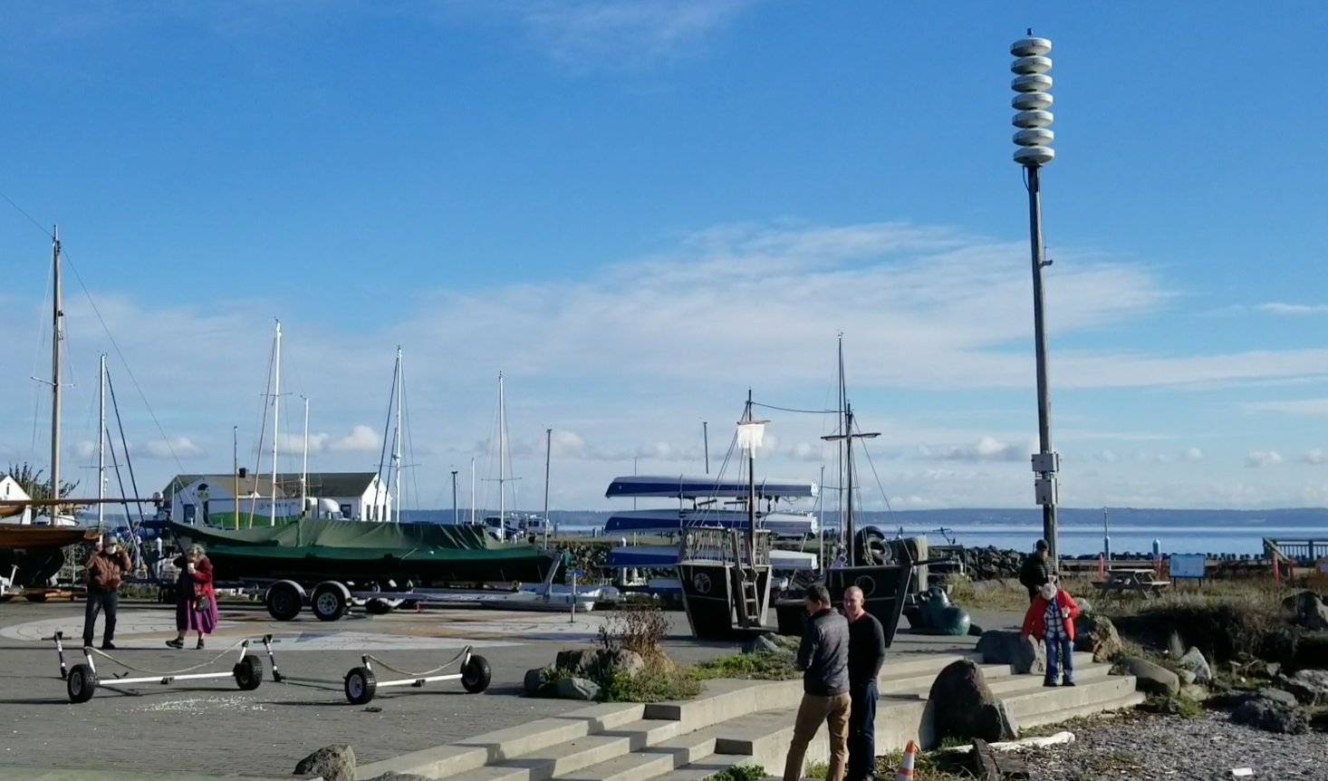 "Port Townsend's tsunami sirens sounded on Oct. 15 as part of the ""Shakeout"" disaster drill."