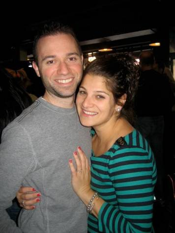 Amelia and Jonathan were engaged in Chicago, IL on September 23, 2012.