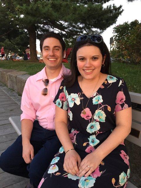Jennifer Teixeira and Nathaniel DeParis Engaged