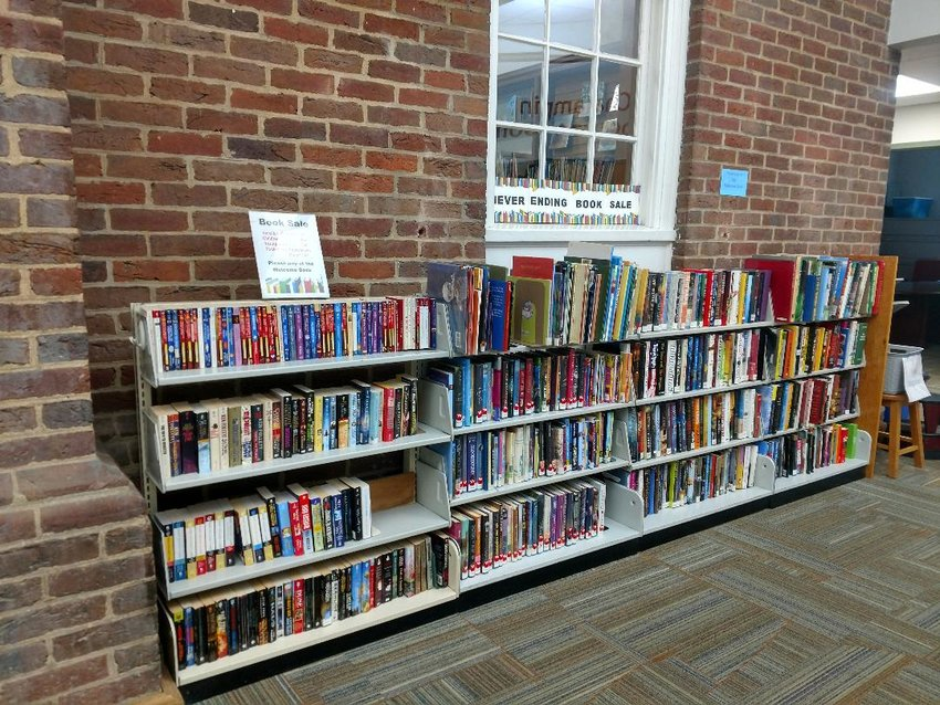 Friends of the Library offer hundreds of books at the Never-Ending Book Sale at Weaver Library and Riverside Library.