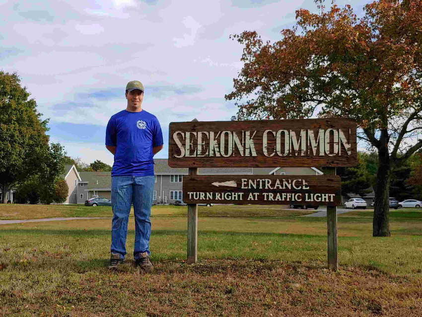 Ben at the Seekonk Commons