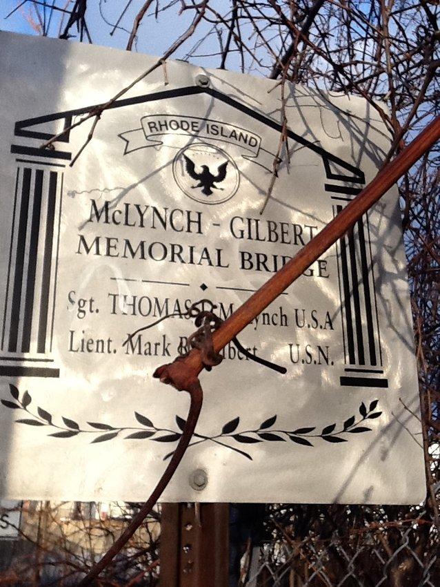 : Memorial Bridge Sign