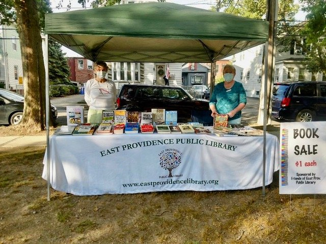 Books are Back at Weaver Library Farmers Market