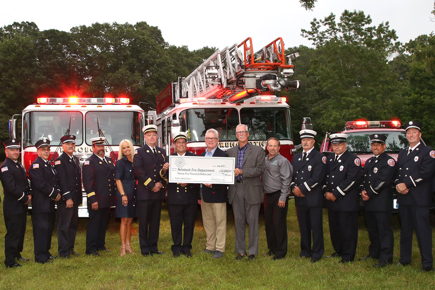 Bristol County Savings Charitable Foundation Recognizes 25TH Anniversary With $25,000 Grant To Rehoboth Fire Department