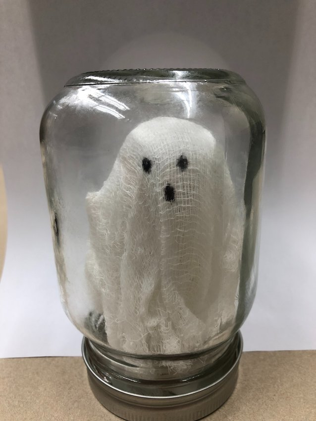 Adult Craft: Ghost in a Jar
