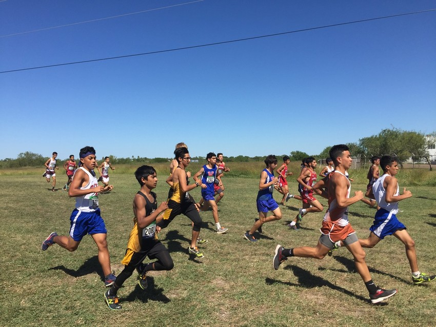 The boys' cross country team ran the 5,000-meter in the regional meet placing 20th with a score of 519 to end their season.