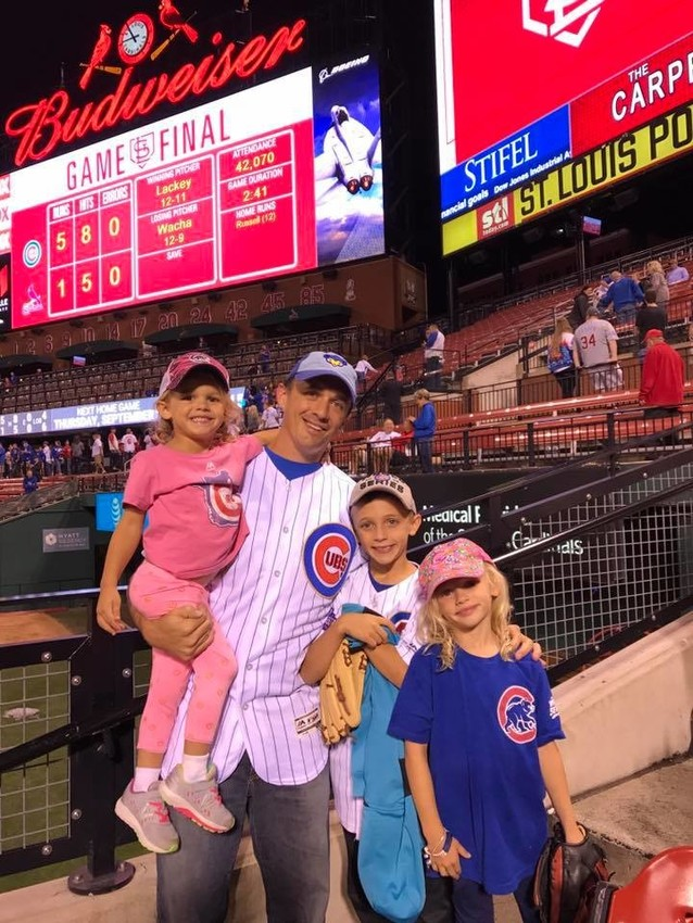 Brian Barone recently took his 'team' to a Chicago Cubs game. Unfortunately, the Cubbies did not have the same outcome as our World Series champions, the Houston Astros.