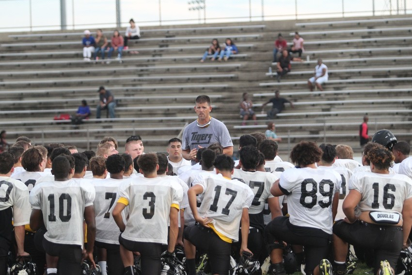 Head Coach Shane Mobley led the Sealy Tigers to a 5-4 regular season record and a playoff victory in his first year at the helm for the team.