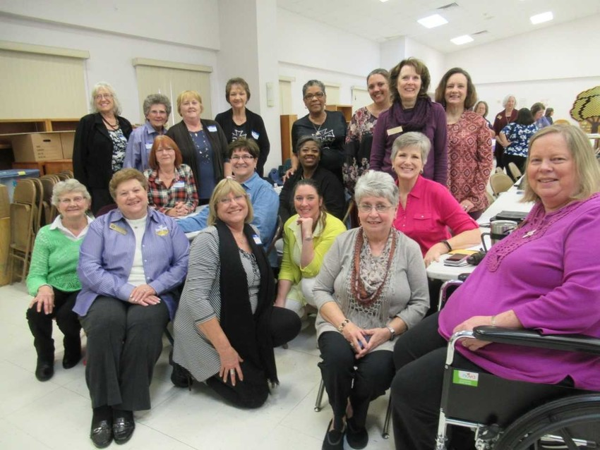 CDA District No. 28 attended the CDA Spiritual Retreat on Jan. 27 in Columbus hosted by District No. 37. Pictured are members of District No. 28 which include Court Our Lady of Faith No. 2607 in Frydek, Court Queen of Angels in Wallis, Court St. Elizabeth in Sealy and Court St. Bernadette in  East Bernard.