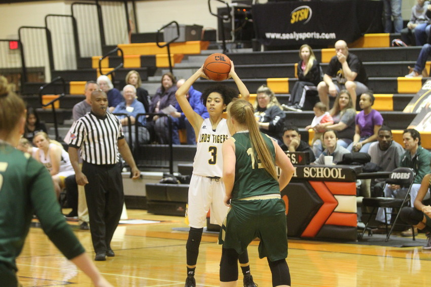 Kayla Green was one of the four Lady Tiger seniors who saw their basketball career for Sealy come to an end last week after losing to Canyon Lake.