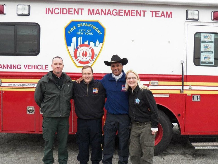 FDNY, Texas A&M Forest Service responders