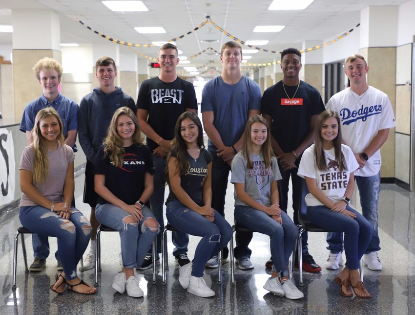 2017 Sealy High School Homecoming Court