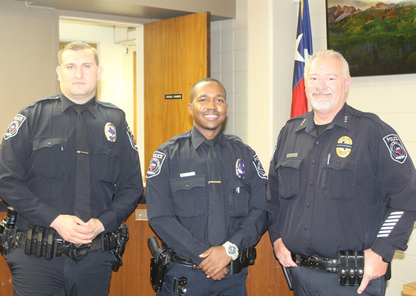 New SPD officers
