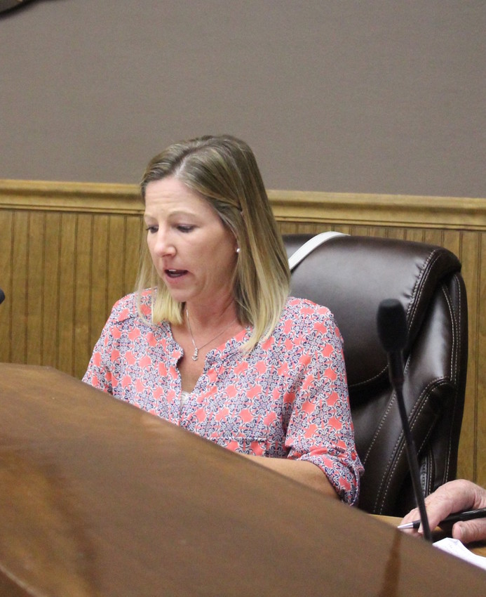 Councilwoman Jennifer Sullivan addressed salary and certification pay policies during the 2017-2018 budget workshop.