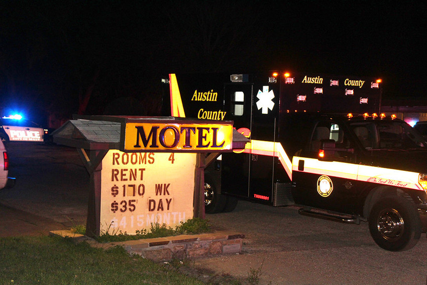 Sealy Police found a 22-year-old victim dead of an apparent suicide at the Rooms For Rent at 207 N. Meyer St. in Sealy.