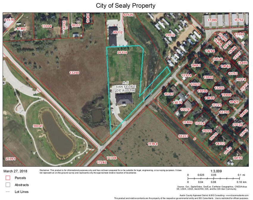 Sealy and Austin County officials have expressed interest in trading land in order to place a county EMS facility near the city's police and fire stations.