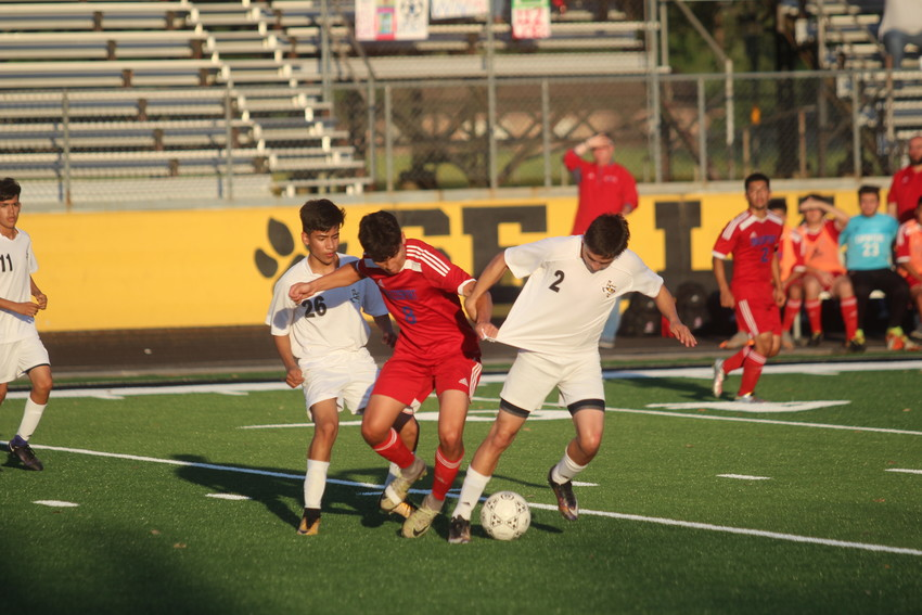 Brazosport's aggressive play combined with some mental mistakes by Sealy ended the Tigers' season last week after they lost to the Exporters 3-0 in their opening playoff game.