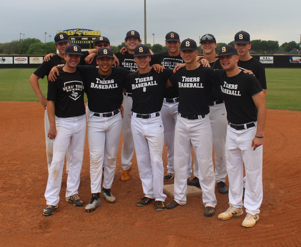 The Sealy Tigers' varsity baseball team has 11 seniors who are hoping to end their final season with a state title thanks to each other and the playoff experience they've gained in the past.