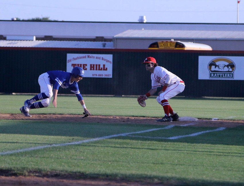 Junior first baseman Kevin Black will look to continue his hot streak from the plate for the Bellville Brahmas as they open the playoffs this week against Brazosport.