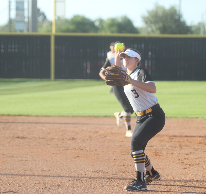 Junior Kendall Dornak was the starting pitcher for both of Sealy's games against Canyon Lake earning just one run and striking out 12 over that span. She also drove in four runs from the plate.